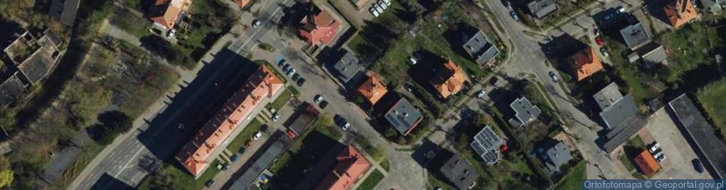 Zdjęcie satelitarne Derdowskiego ul.