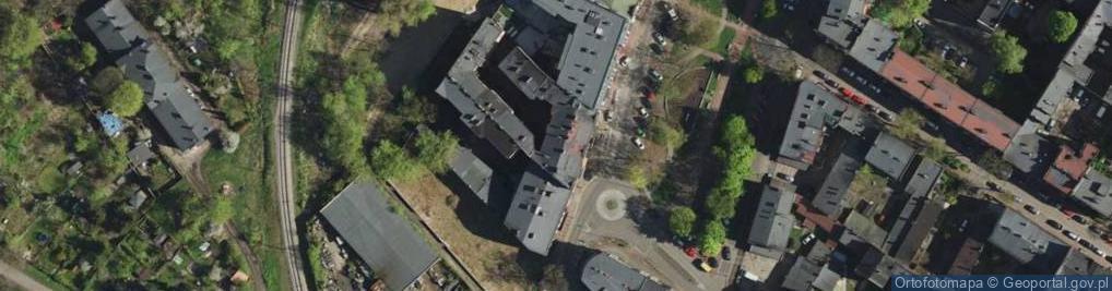Zdjęcie satelitarne Dęblińska ul.