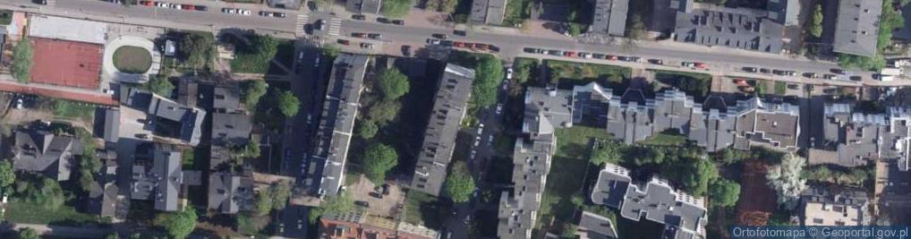 Zdjęcie satelitarne Derdowskiego Hieronima ul.