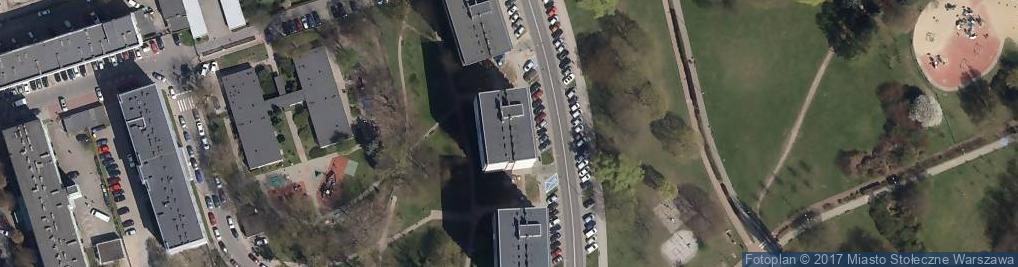 Zdjęcie satelitarne Deotymy ul.