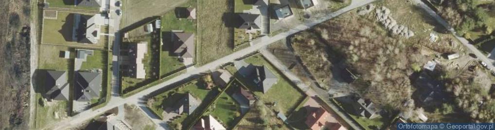 Zdjęcie satelitarne Diamentowa ul.