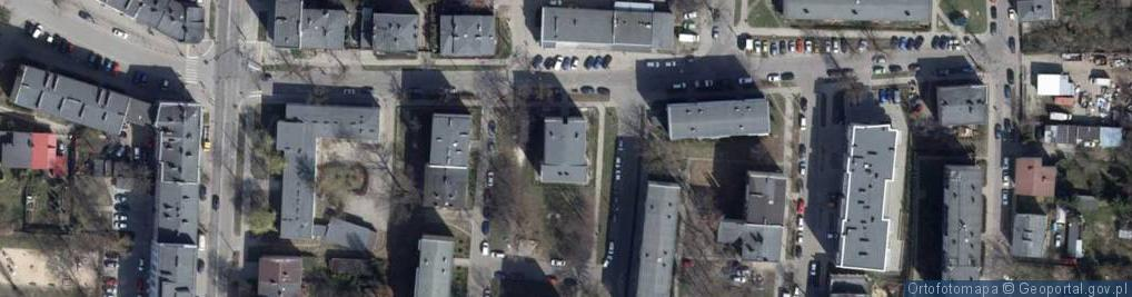 Zdjęcie satelitarne Długosza Jana ul.
