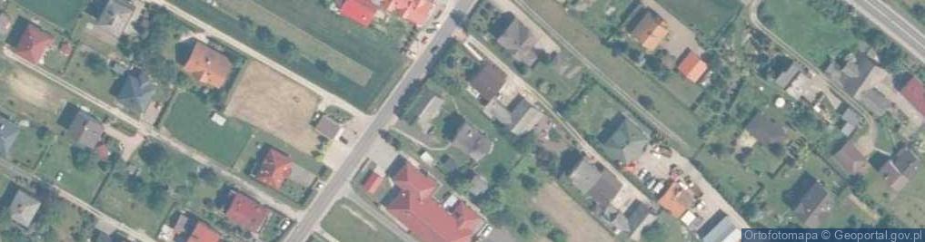 Zdjęcie satelitarne Długa ul.