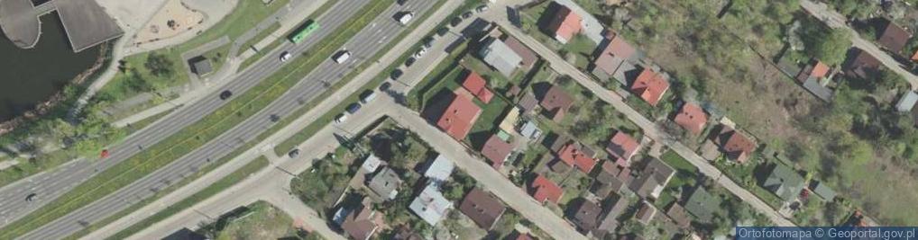 Zdjęcie satelitarne Dojlidzka ul.