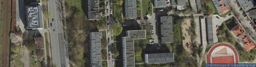Zdjęcie satelitarne Dominika, bp. ul.