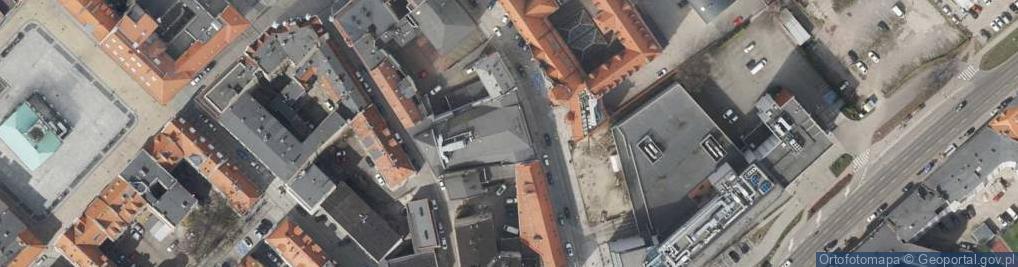 Zdjęcie satelitarne Dolnych Wałów ul.
