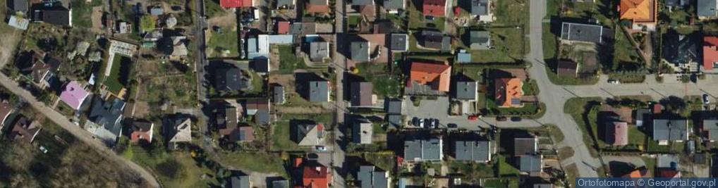Zdjęcie satelitarne Dobrzyńska ul.
