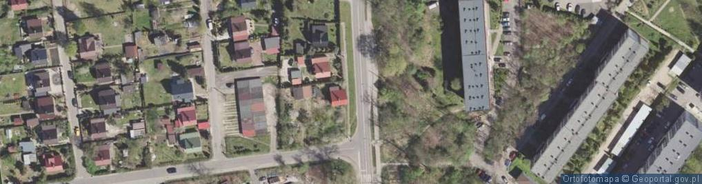 Zdjęcie satelitarne Domsa Roberta ul.