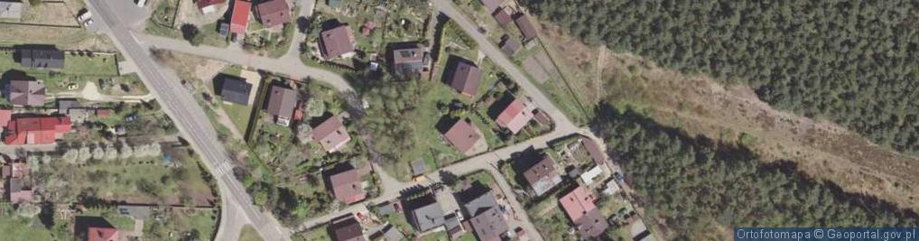 Zdjęcie satelitarne Dożynkowa ul.