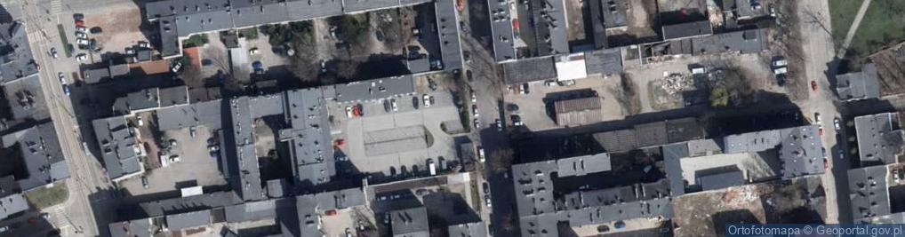 Zdjęcie satelitarne Dowborczyków ul.