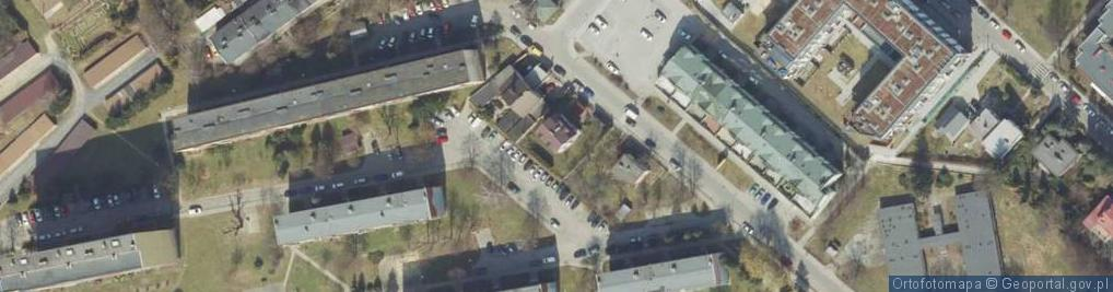 Zdjęcie satelitarne Dolińskiego Franciszka ul.