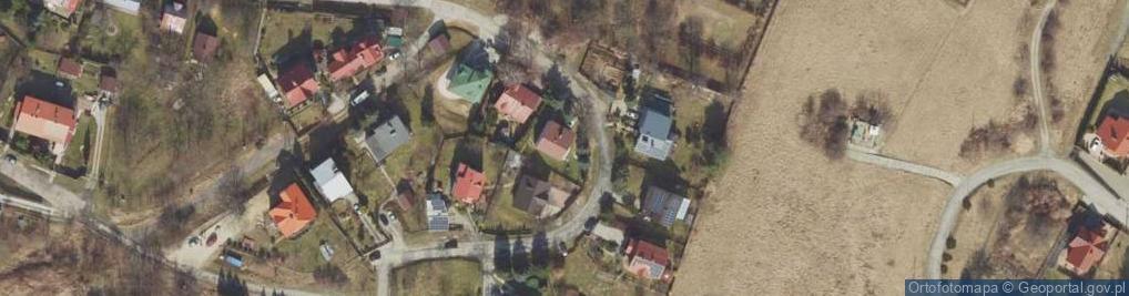 Zdjęcie satelitarne Domowa ul.