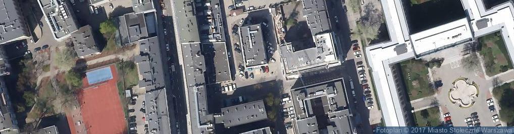 Zdjęcie satelitarne Dowcip ul.