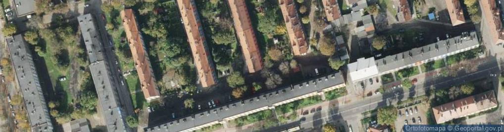 Zdjęcie satelitarne Domańskiego Bolesława, ks. ul.
