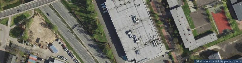 Zdjęcie satelitarne Drogowa Trasa Średnicowa ul.