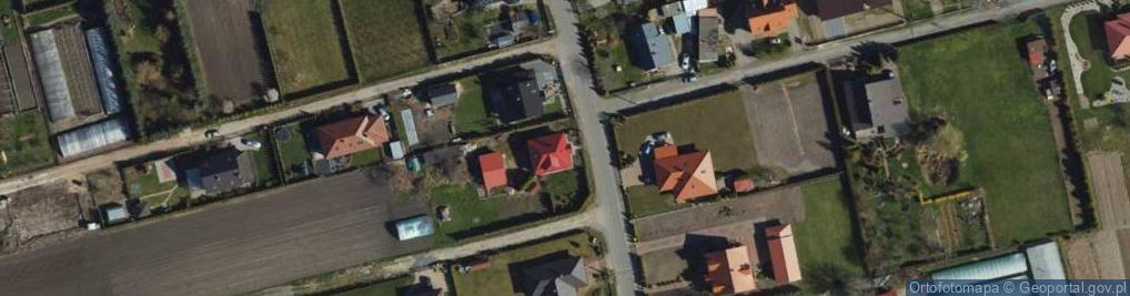 Zdjęcie satelitarne Droga Bociania ul.