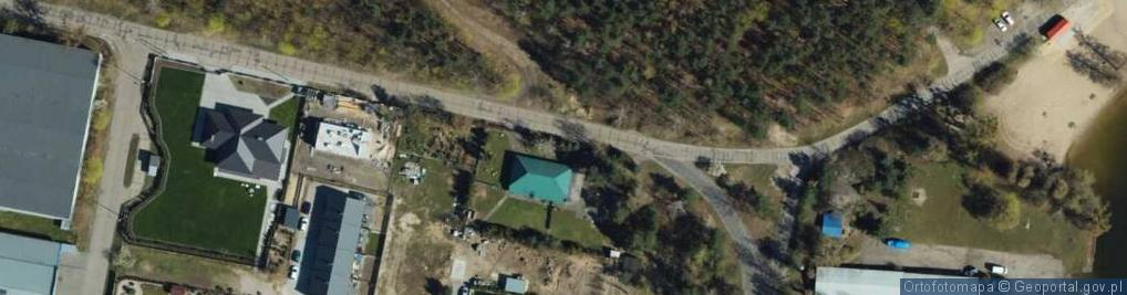 Zdjęcie satelitarne Droga Jeziorna ul.