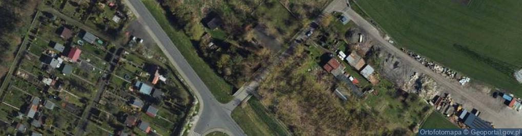 Zdjęcie satelitarne Droga Kręta ul.
