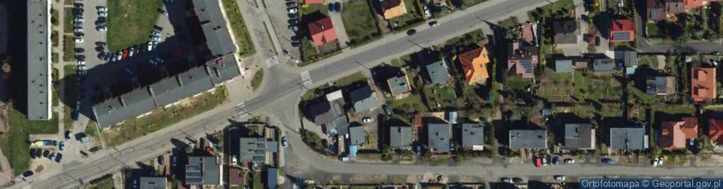 Zdjęcie satelitarne Droga Kujawska ul.