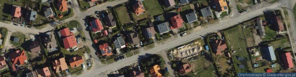 Zdjęcie satelitarne Droga Kurpiowska ul.