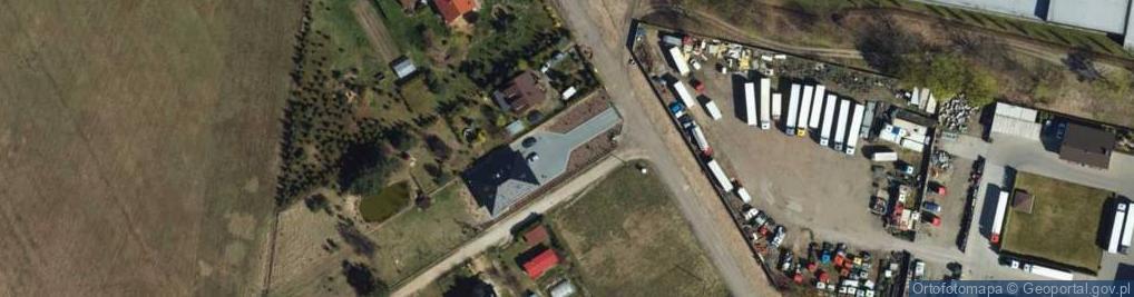 Zdjęcie satelitarne Droga Mazowiecka ul.