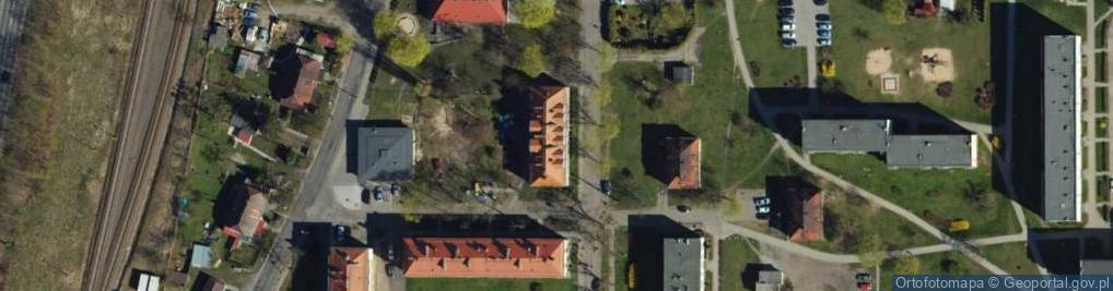 Zdjęcie satelitarne Droga Mazurska ul.