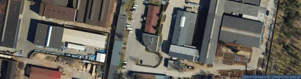 Zdjęcie satelitarne Droga Olchowa ul.
