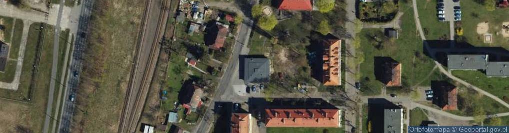 Zdjęcie satelitarne Droga Pomorska ul.