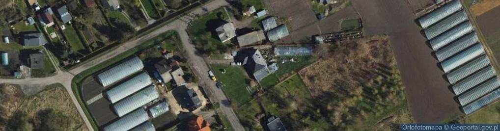 Zdjęcie satelitarne Droga Przechodnia ul.