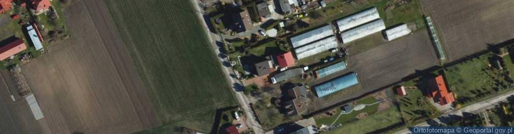 Zdjęcie satelitarne Droga Topolowa ul.
