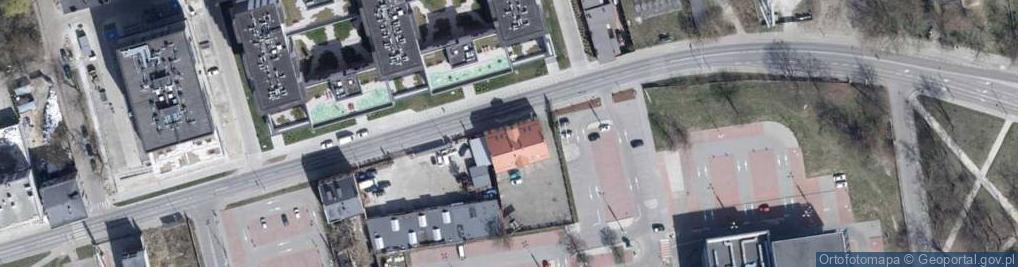 Zdjęcie satelitarne Drewnowska ul.