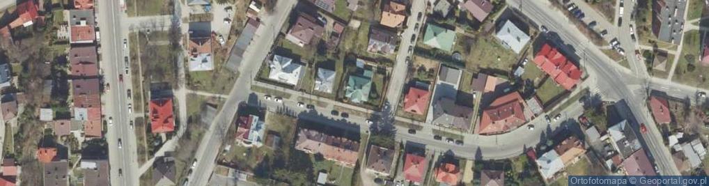 Zdjęcie satelitarne Drużbackiej Elżbiety ul.