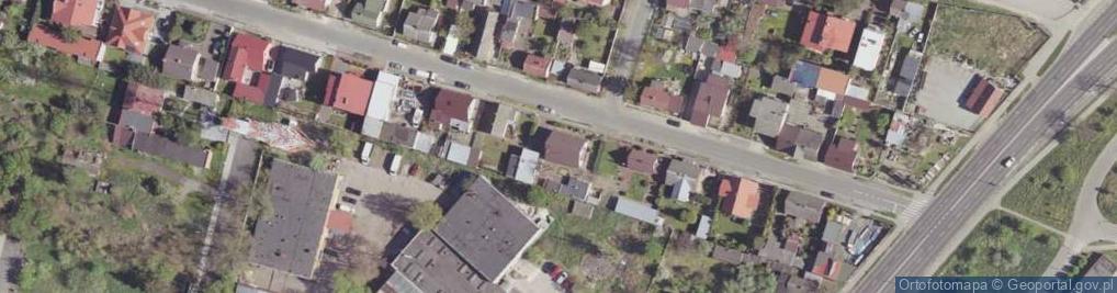 Zdjęcie satelitarne Drewniana ul.