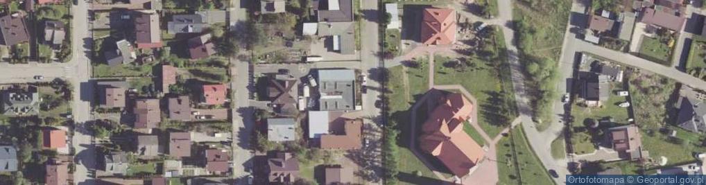 Zdjęcie satelitarne Drzewicka ul.
