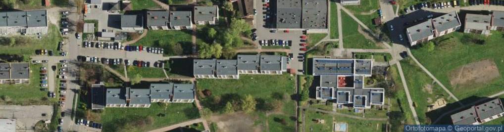 Zdjęcie satelitarne Drozdów ul.