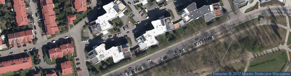 Zdjęcie satelitarne Drawska ul.