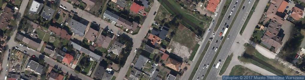 Zdjęcie satelitarne Drapińska ul.