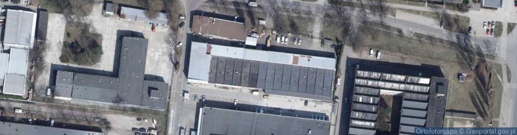 Zdjęcie satelitarne Duńska ul.