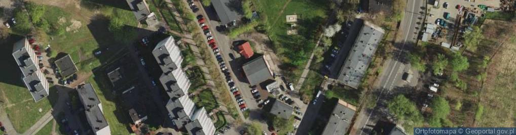 Zdjęcie satelitarne Dunikowskiego Ksawerego ul.