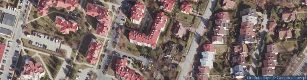 Zdjęcie satelitarne Dukielska ul.