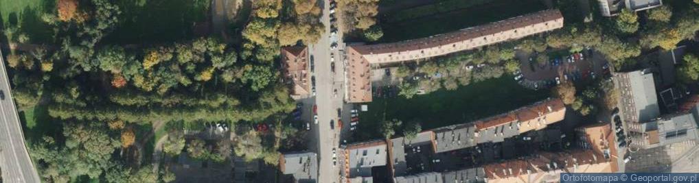 Zdjęcie satelitarne Dubiela Pawła ul.