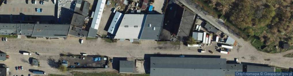 Zdjęcie satelitarne Dworcowa ul.