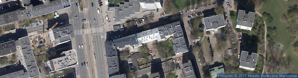 Zdjęcie satelitarne Dworkowa ul.
