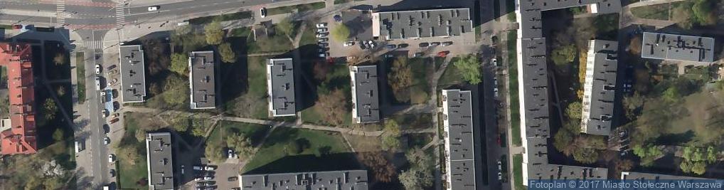 Zdjęcie satelitarne Dwernickiego Józefa, gen. ul.