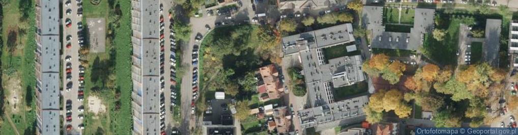 Zdjęcie satelitarne Dworska ul.