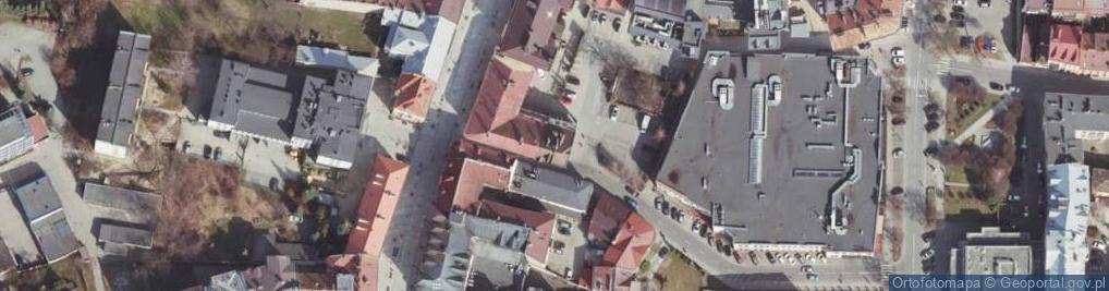 Zdjęcie satelitarne Dymnickiego Feliksa, ks. ul.