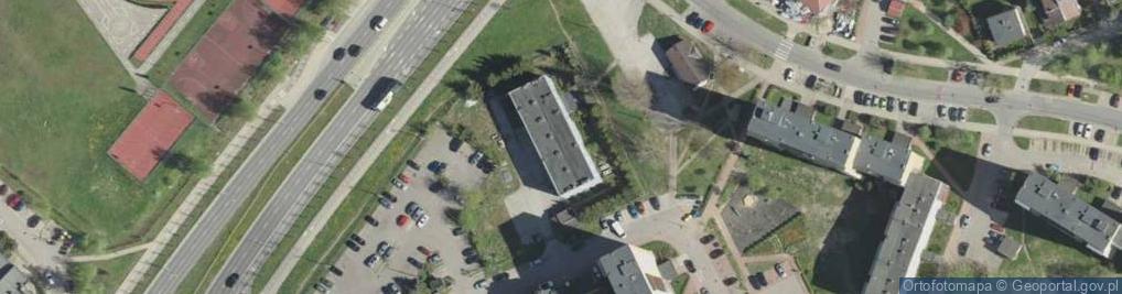 Zdjęcie satelitarne Działkowa ul.