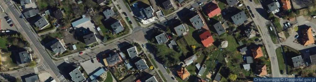 Zdjęcie satelitarne Działyńskich ul.