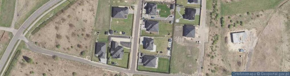 Zdjęcie satelitarne Dzióbka Franciszka ul.
