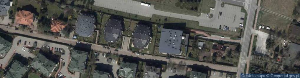 Zdjęcie satelitarne Dźwiękowa ul.